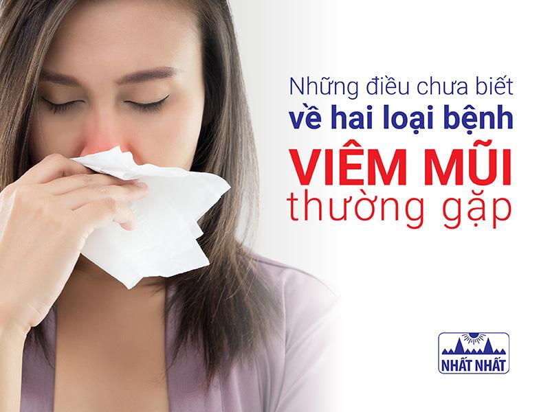Những điều chưa biết về hai loại bệnh viêm mũi thường gặp