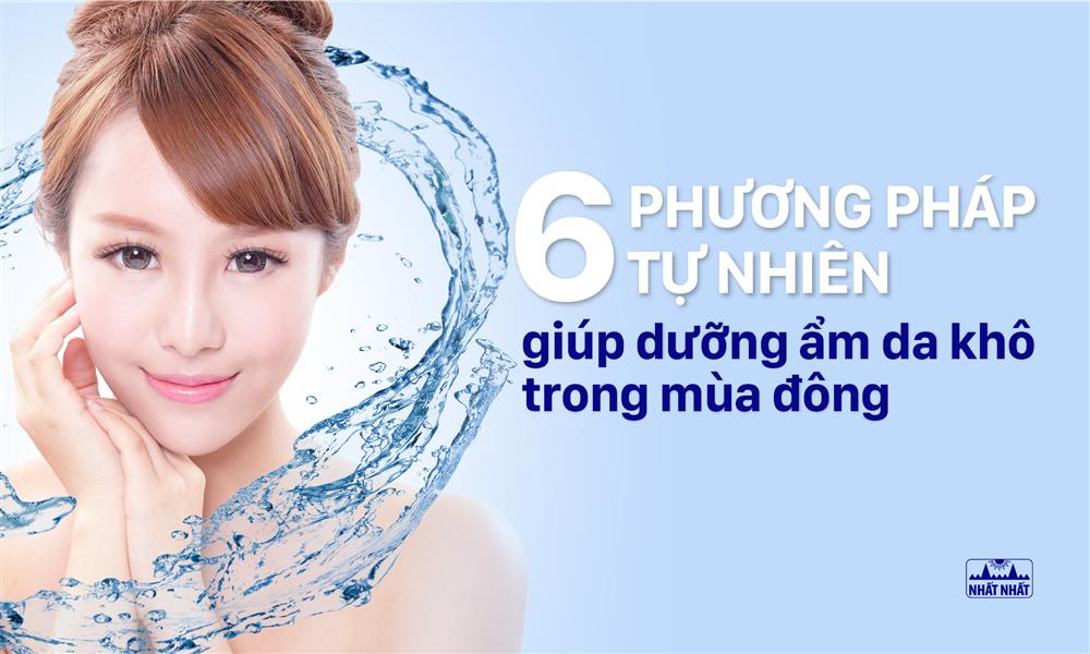 6 Phương pháp tự nhiên giúp dưỡng ẩm da khô trong mùa đông