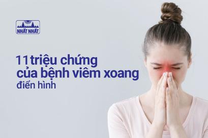 11 triệu chứng viêm xoang chớ nên coi thường!