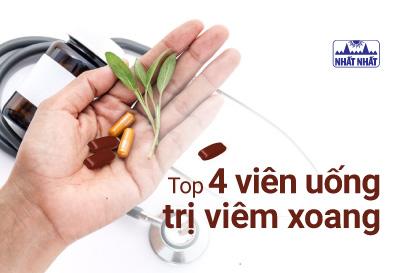 Top 4 viên uống trị viêm xoang được ưa chuộng nhất