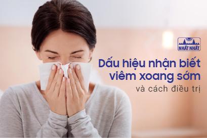 4 dấu hiệu nhận biết viêm xoang sớm và cách điều trị