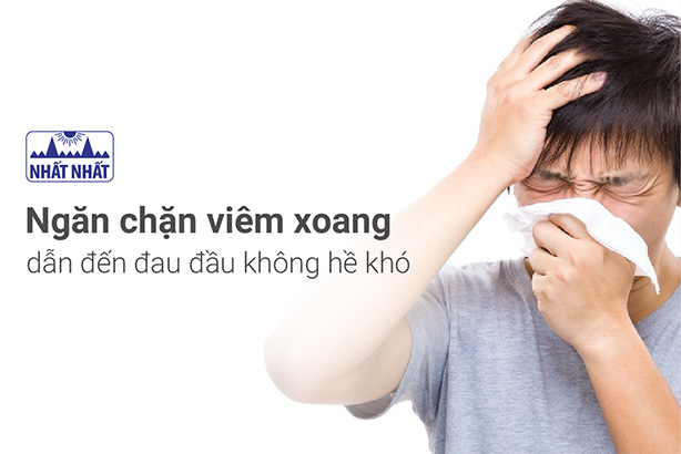 Ngăn chặn viêm xoang dẫn đến đau đầu không hề khó!