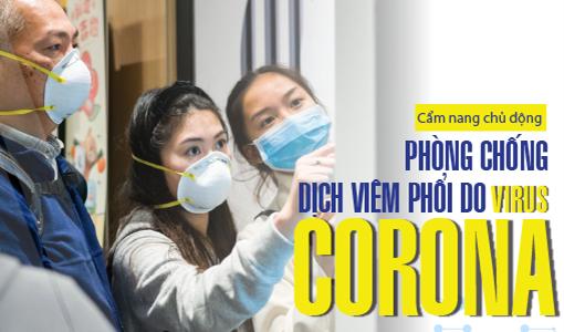 Cẩm nang chủ động phòng chống dịch viêm phổi do virus corona