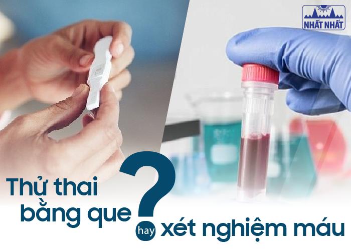 Thử thai bằng cách nào chính xác nhất: Thử thai bằng que hay xét nghiệm máu?