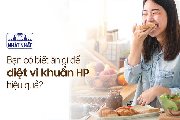 Bạn có biết ăn gì để diệt vi khuẩn HP hiệu quả?