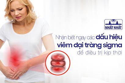 Nhận biết ngay các dấu hiệu viêm đại tràng sigma để điều trị kịp thời