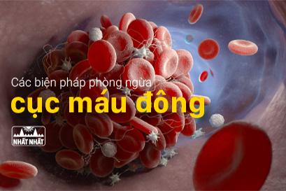 Các biện pháp phòng ngừa cục máu đông một cách tự nhiên