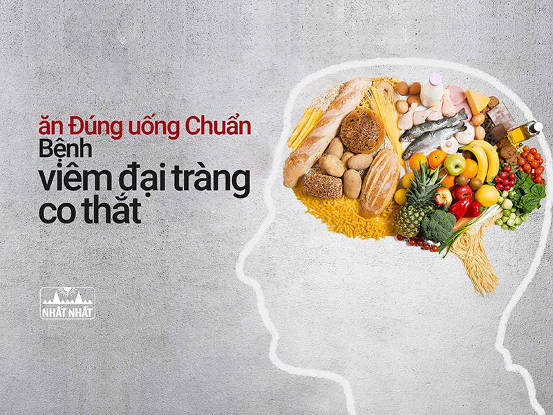 Chế độ ăn uống Đúng và Chuẩn cho người bị viêm đại tràng co thắt
