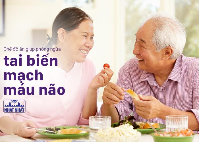 Chế độ ăn giúp phòng ngừa tai biến mạch máu não
