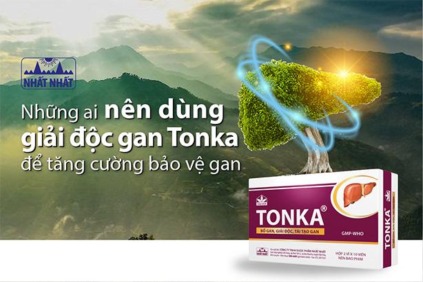 Những ai nên dùng giải độc gan Tonka để tăng cường bảo vệ gan?