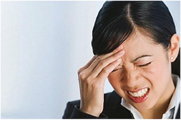 Trên 60% các trường hợp đau đầu là do thiếu máu lên não
