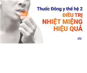 THUỐC ĐÔNG Y THẾ HỆ 2 KACHITA: Điều trị hiệu quả nhiệt miệng (loét áp-tơ)