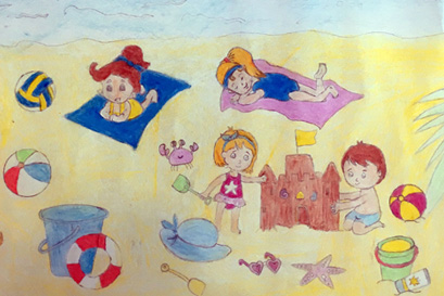 Thông báo kết quả cuộc thi vẽ tranh Mùa hè yêu thương