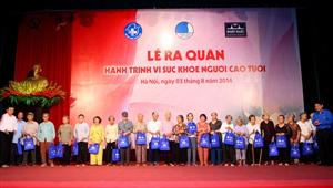 Dược phẩm Nhất Nhất phối hợp tổ chức khám chữa bệnh cho 32,500 người cao tuổi toàn quốc
