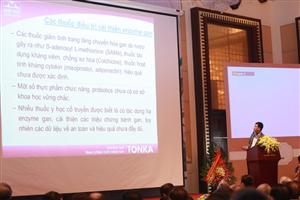 Hội nghị Nội khoa toàn quốc: Đã có thuốc Đông y thế hệ 2 điều trị bệnh gan hiệu quả tương đương Silymarin