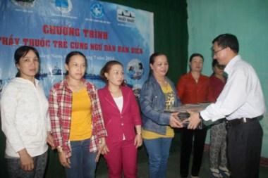500 ngư dân Quảng Nam được khám, chữa bệnh miễn phí