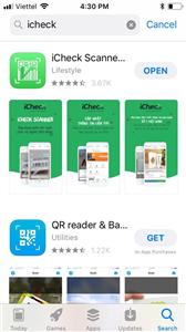 Hướng dẫn cách tra mã vạch sản phẩm Dược phẩm Nhất Nhất bằng iCheck