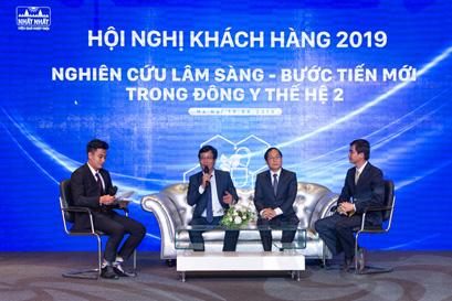 Hội nghị khách hàng Hà Nội Nghiên cứ lâm sàng - Bước tiến mới trong Đông y thế hệ 2 19/4/2019