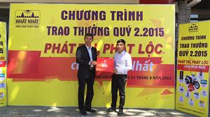 Lễ trao thưởng Quý II 2015 Dược Phẩm Nhất Nhất