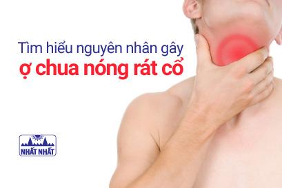 Tìm hiểu nguyên nhân gây ợ chua nóng rát cổ