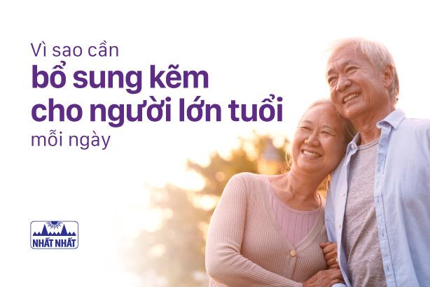 Vì sao cần bổ sung kẽm cho người lớn tuổi mỗi ngày?