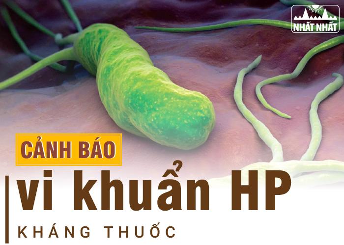 Tìm hiểu phác đồ điều trị vi khuẩn HP kháng thuốc