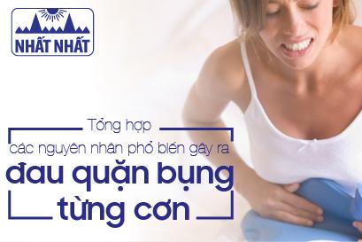 Tổng hợp các nguyên nhân phổ biến gây ra đau quặn bụng từng cơn