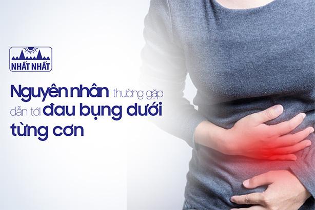 Vạch trần các nguyên nhân thường gặp dẫn tới đau bụng dưới từng cơn