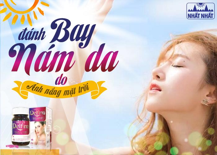 Nám da do ánh nắng mặt trời và cách cải thiện