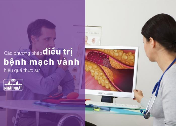 Các phương pháp điều trị bệnh mạch vành hiệu quả thực sự