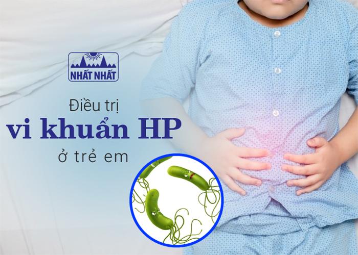 Kết hợp Đông-Tây y điều trị vi khuẩn HP gây bệnh dạ dày ở trẻ em