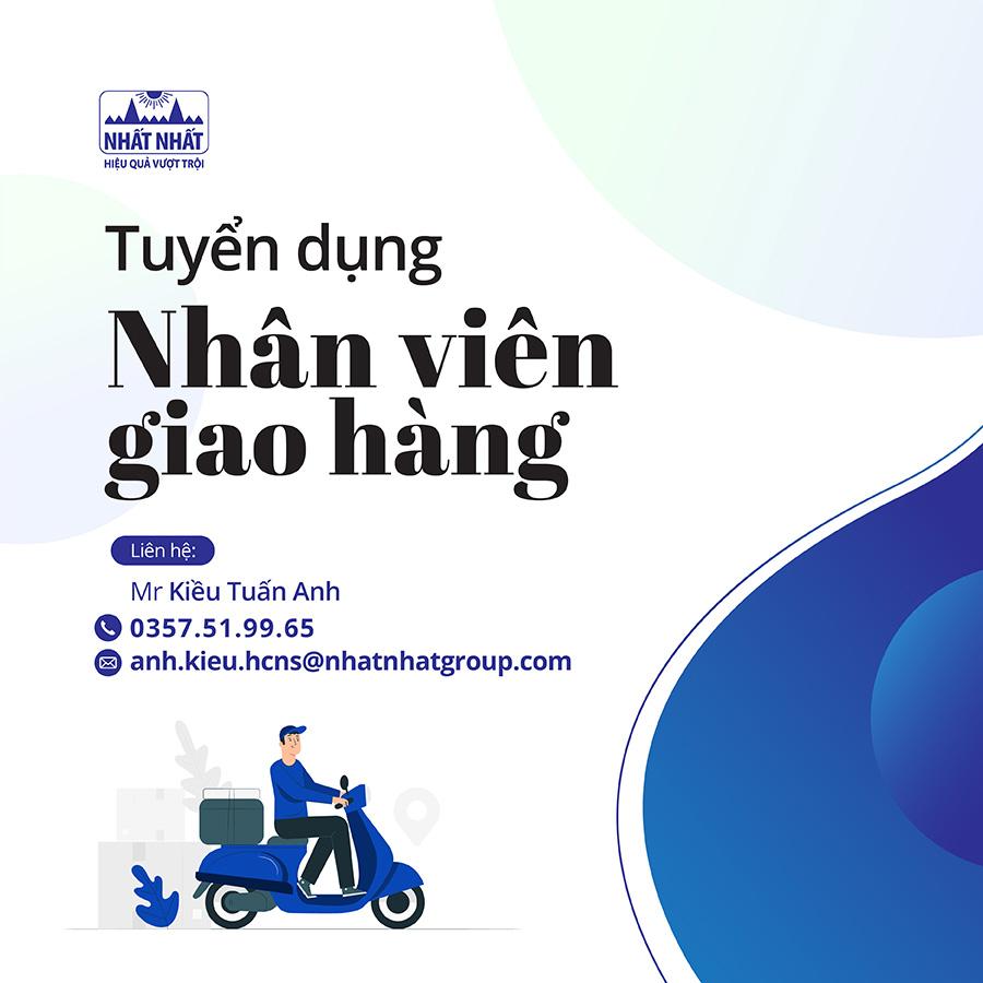 Tuyển nhân viên giao hàng kho lẻ Hà Nội