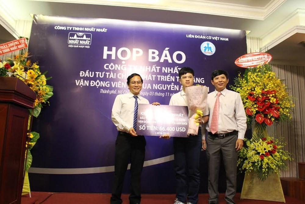 Nguyễn Anh Khôi đoạt 3 Huy chương vàng tại Giải cờ vua đồng đội toàn quốc