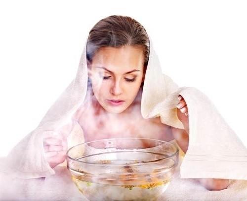 Xông hơi giúp trị hội chứng chảy dịch nước mũi sau
