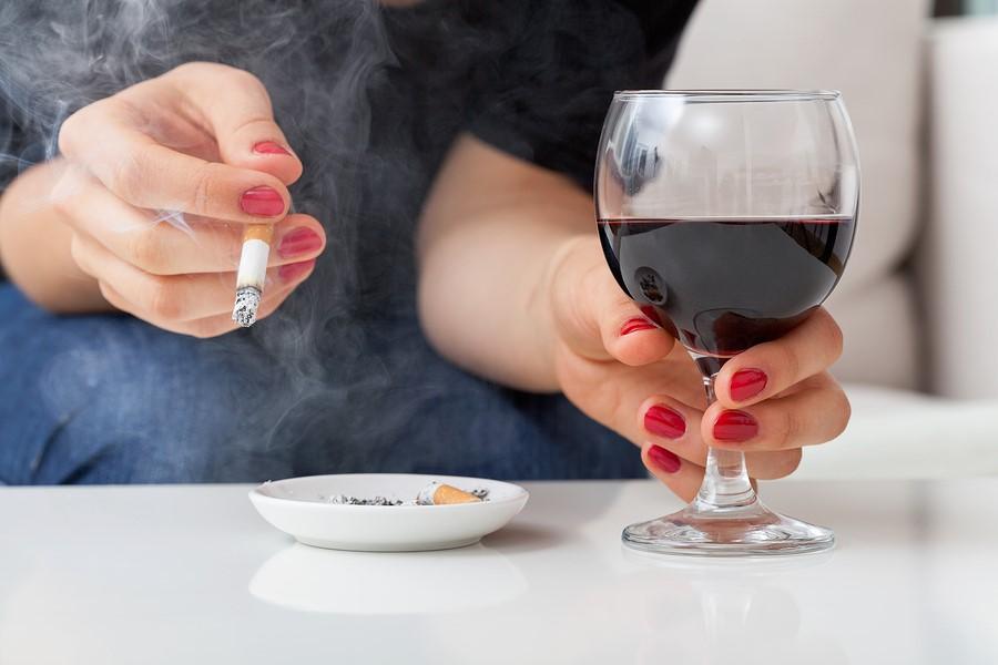 Thuốc lá, rượu bia là tác nhân gây ức chế thần kinh khoái cảm