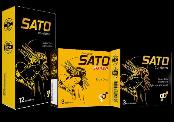 Bao cao su Sato